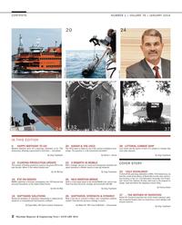 Maritime Reporter Magazine, page 2,  Jan 2014