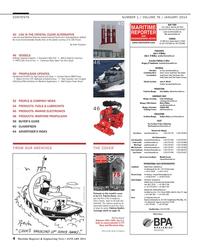Maritime Reporter Magazine, page 4,  Jan 2014