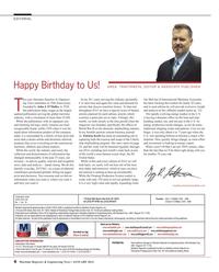 Maritime Reporter Magazine, page 6,  Jan 2014