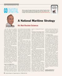 Maritime Reporter Magazine, page 8,  Feb 2014