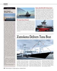 Maritime Reporter Magazine, page 22,  Feb 2014