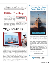 Maritime Reporter Magazine, page 23,  Feb 2014 Jack-Up Rig Drydocks