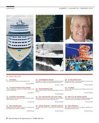 Maritime Reporter Magazine, page 2,  Feb 2014