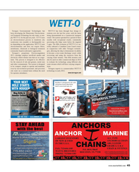 Maritime Reporter Magazine, page 45,  Feb 2014 cal Treatment Technology