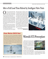 Maritime Reporter Magazine, page 48,  Feb 2014 W??rtsil?? Ship Power