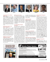 Maritime Reporter Magazine, page 51,  Feb 2014 Massachusetts