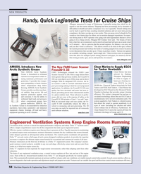 Maritime Reporter Magazine, page 58,  Feb 2014 circulation technology