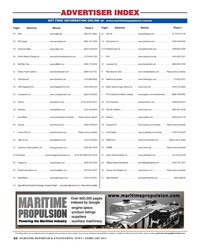Maritime Reporter Magazine, page 64,  Feb 2014 Anchor Maine & Supply INC .