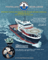 Maritime Reporter Magazine, page 4th Cover,  Feb 2014 Jr. Otto Candies LLC
