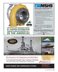 Maritime Reporter Magazine, page 15,  Mar 2014