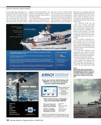Maritime Reporter Magazine, page 30,  Mar 2014 Cutter Sapelo