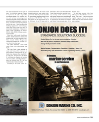 Maritime Reporter Magazine, page 31,  Mar 2014 environmental and other law enforcement missions