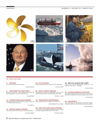 Maritime Reporter Magazine, page 2,  Mar 2014 Patricia Keefe