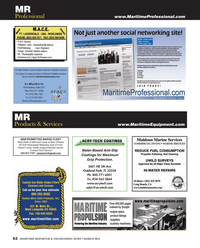 Maritime Reporter Magazine, page 62,  Mar 2014 Florida