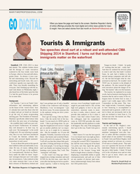 Maritime Reporter Magazine, page 8,  Apr 2014