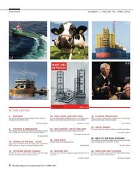 Maritime Reporter Magazine, page 2,  Apr 2014 Greg Trauthwein