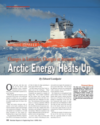 Maritime Reporter Magazine, page 44,  Apr 2014 Edward Lundquist(Photo