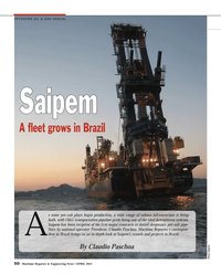 Maritime Reporter Magazine, page 50,  Apr 2014 subsea infrastructure