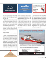 Maritime Reporter Magazine, page 61,  Apr 2014 ROV technology