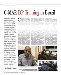 Maritime Reporter Magazine, page 4th Cover,  Apr 2014 Claudio Paschoa(Photo Claudio