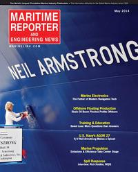 Maritime Reporter Magazine Cover May 2014 - Marine Electronics Edition