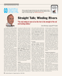 Maritime Reporter Magazine, page 8,  May 2014