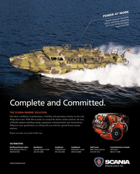 Maritime Reporter Magazine, page 1,  May 2014