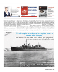 Maritime Reporter Magazine, page 35,  May 2014 Elmer A. Sperry