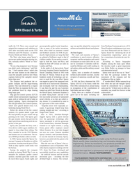 Maritime Reporter Magazine, page 37,  May 2014