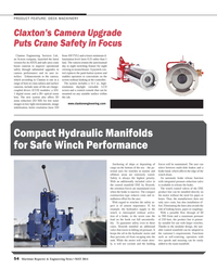 Maritime Reporter Magazine, page 54,  May 2014 Claxton Engineering Services Ltd.