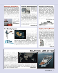 Maritime Reporter Magazine, page 3rd Cover,  May 2014 SMS