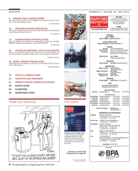Maritime Reporter Magazine, page 4,  May 2014