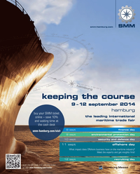 Maritime Reporter Magazine, page 4th Cover,  May 2014