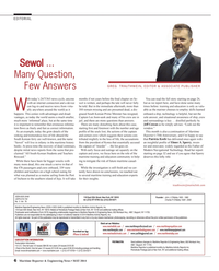 Maritime Reporter Magazine, page 6,  May 2014