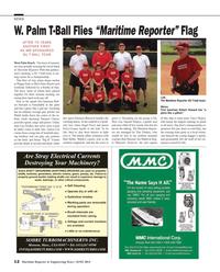 Maritime Reporter Magazine, page 12,  Jun 2014