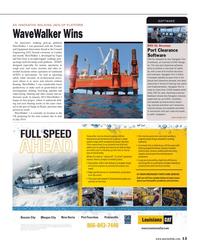Maritime Reporter Magazine, page 13,  Jun 2014
