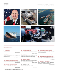 Maritime Reporter Magazine, page 2,  Jun 2014