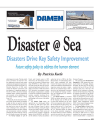 Maritime Reporter Magazine, page 41,  Jun 2014