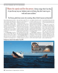 Maritime Reporter Magazine, page 42,  Jun 2014
