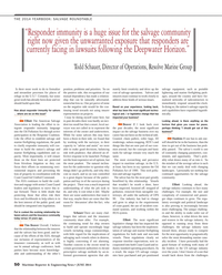 Maritime Reporter Magazine, page 50,  Jun 2014