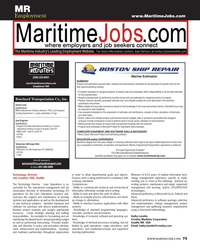 Maritime Reporter Magazine, page 75,  Jun 2014