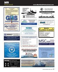 Maritime Reporter Magazine, page 77,  Jun 2014
