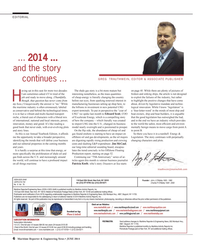 Maritime Reporter Magazine, page 6,  Jun 2014