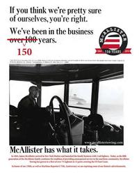 Maritime Reporter Magazine, page 3rd Cover,  Jun 2014