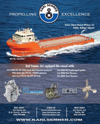 Maritime Reporter Magazine, page 4th Cover,  Jun 2014