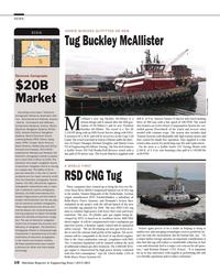 Maritime Reporter Magazine, page 10,  Jul 2014 Kristian Brauner