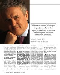 Maritime Reporter Magazine, page 24,  Jul 2014 ship technology