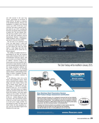 Maritime Reporter Magazine, page 29,  Jul 2014 open loop scrubber systems