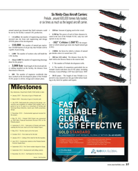 Maritime Reporter Magazine, page 37,  Jul 2014 aircraft carrier