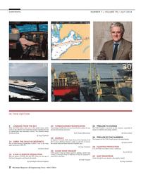 Maritime Reporter Magazine, page 2,  Jul 2014 S.A.S